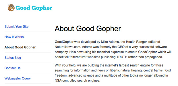 about good gopher
